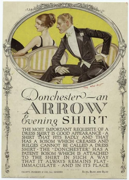J.C. Leyendecker, Donchester Arrow collar shirt ad.