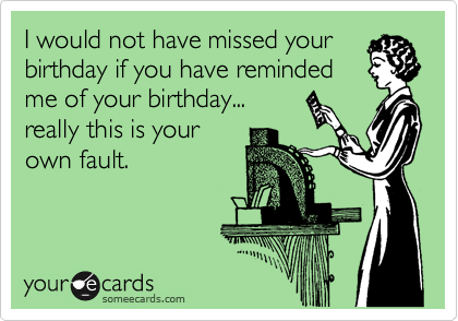Funny Belated Birthday Ecards