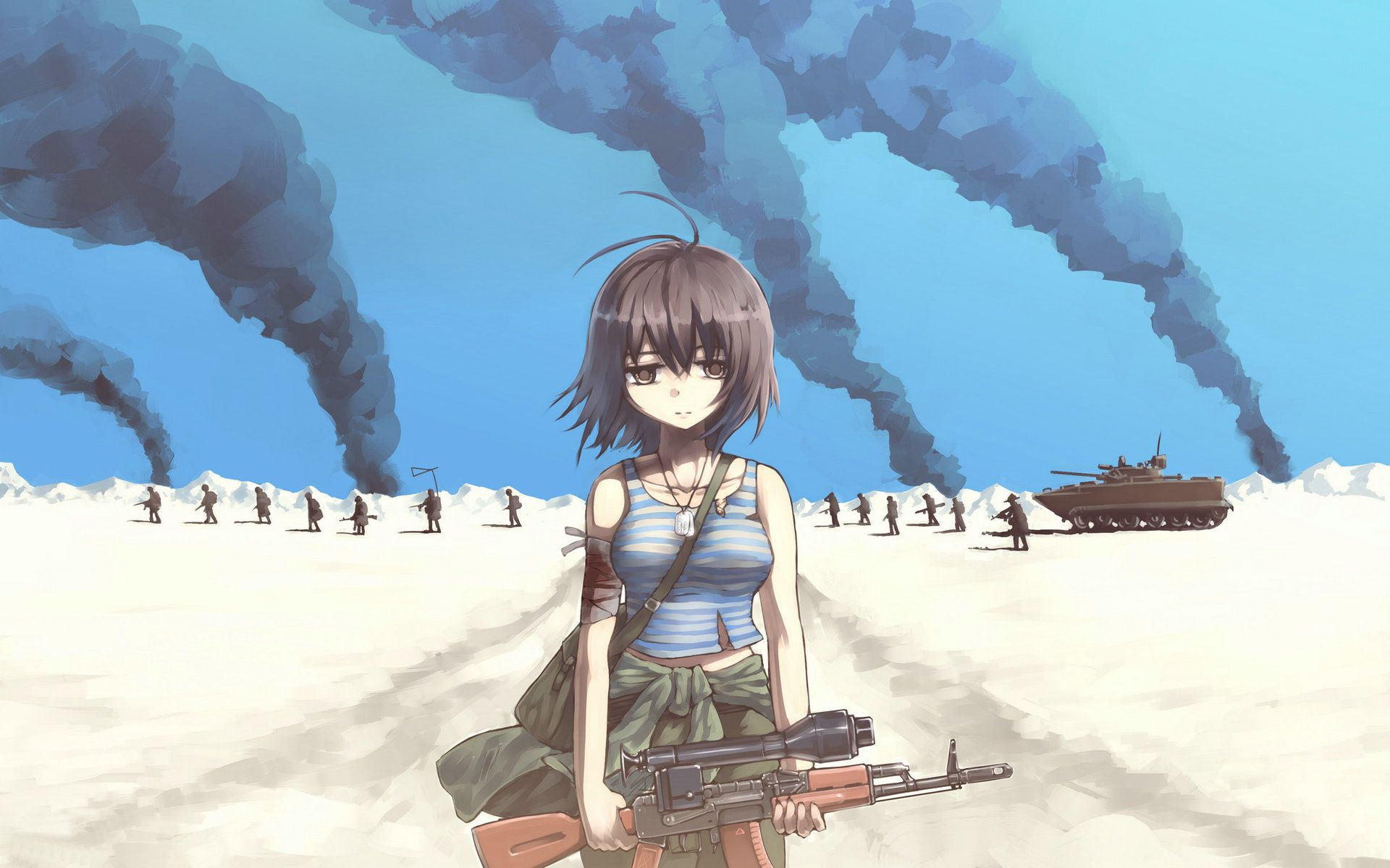 anime-soldier-girl-desktop-wallpaper-1920x1200.jpg (1920 ...