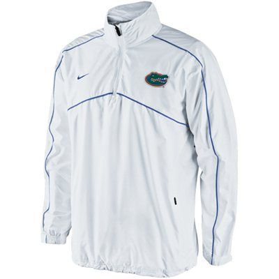 Nike Florida Gators Woven Coaches Quarter Zip Pullover Jacket