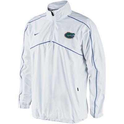 Nike Florida Gators Woven Coaches Quarter Zip Pullover Jacket