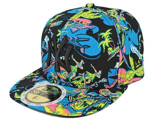 ... official kids new york yankees hawaiian 59fifty fitted cap by new era x  mlb 225b2 25f2a 06d226294a7a