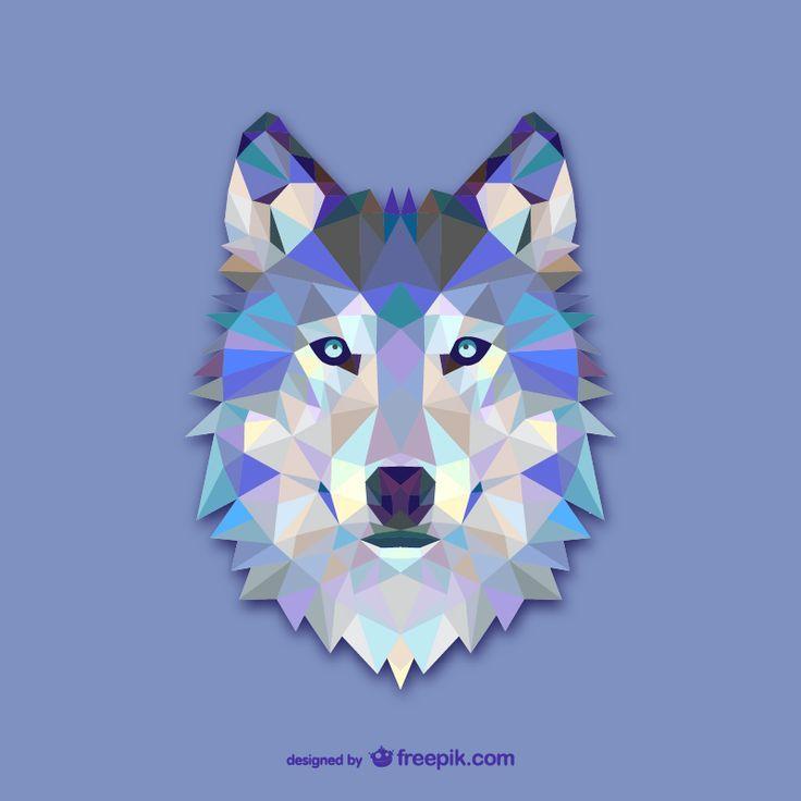 Imagenes Para Serigrafia Gratis Google Search Arte Poligono Diseno Lobo Lobo Geometrico