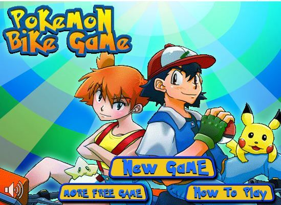 Play Pokemon Bike Game Game Online Bikes Games Play Pokemon Fun Online Games