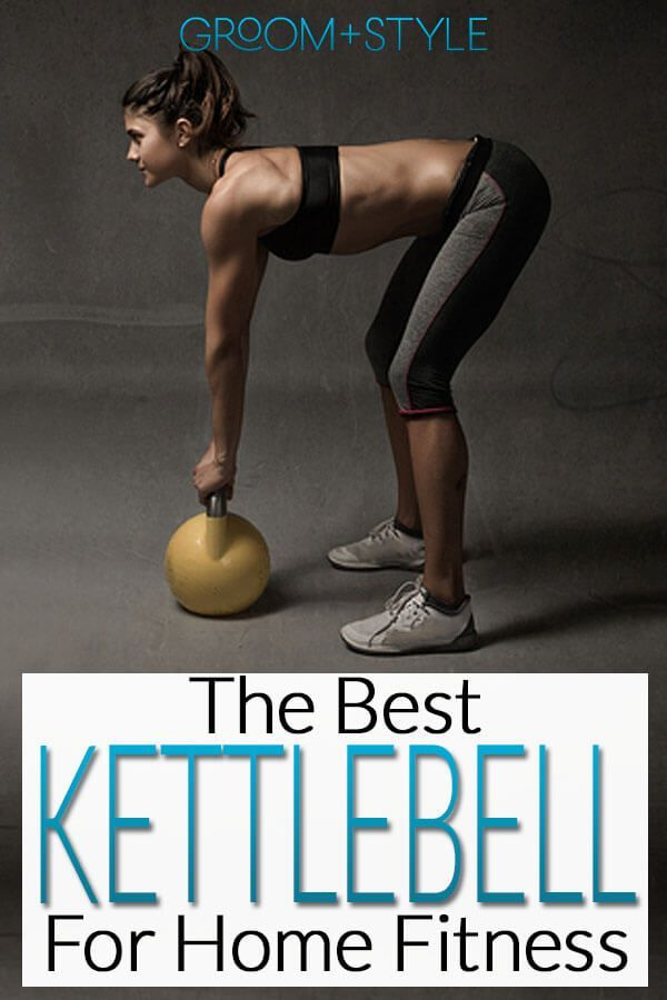 If you want to get in shape at home, try a kettlebell! Kettlebells are now a favored tool for overal...