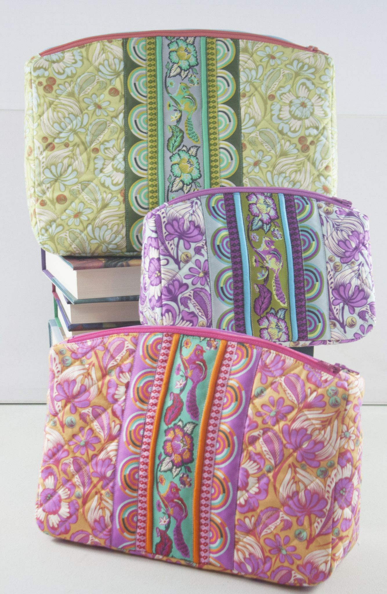 Sew Sweetness Filigree Double-Zip Pouches sewing pattern | DIY ...