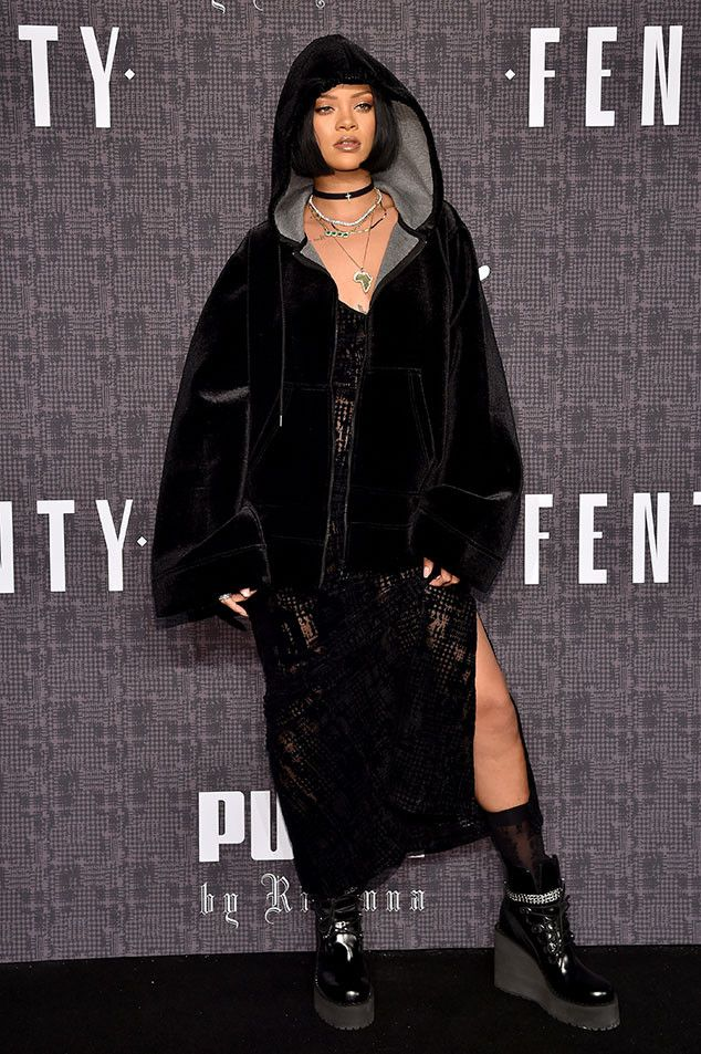 Rihanna From New York Fashion Week Fall 2016 Star Sightings Fenty Puma Rihanna And Fall 2016