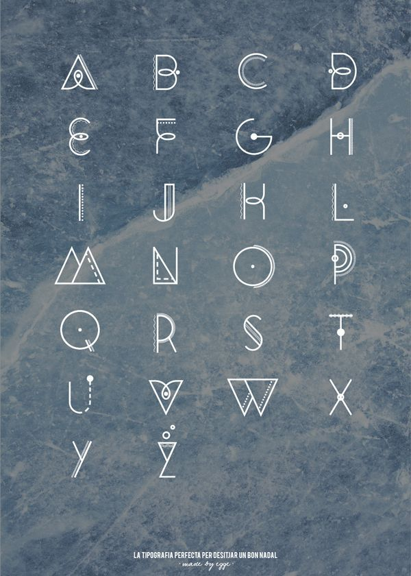 SANTA on Behance  typography  Fonts  type