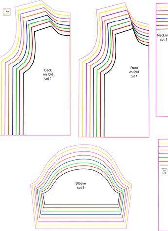 FREE SEWING PATTERN: T-SHIRT FOR KIDS | Free printable, Sewing ...