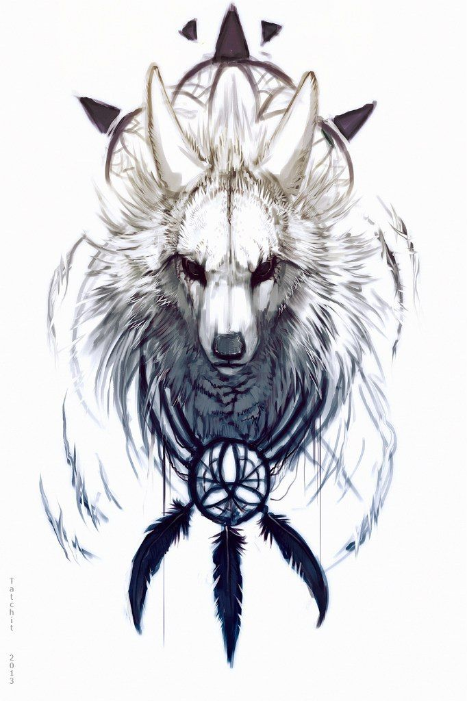 Mystic Wolf Animal Art Furry Art Wolf Art