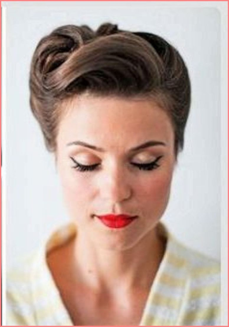 50s Hairstyles For Long Hair Vintage Frisuren Rockabilly Frisur Frisur Hochgesteckt