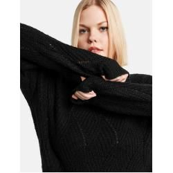 Photo of Samoon Sweater mit Strickmuster Black Ladies Gerry Weber