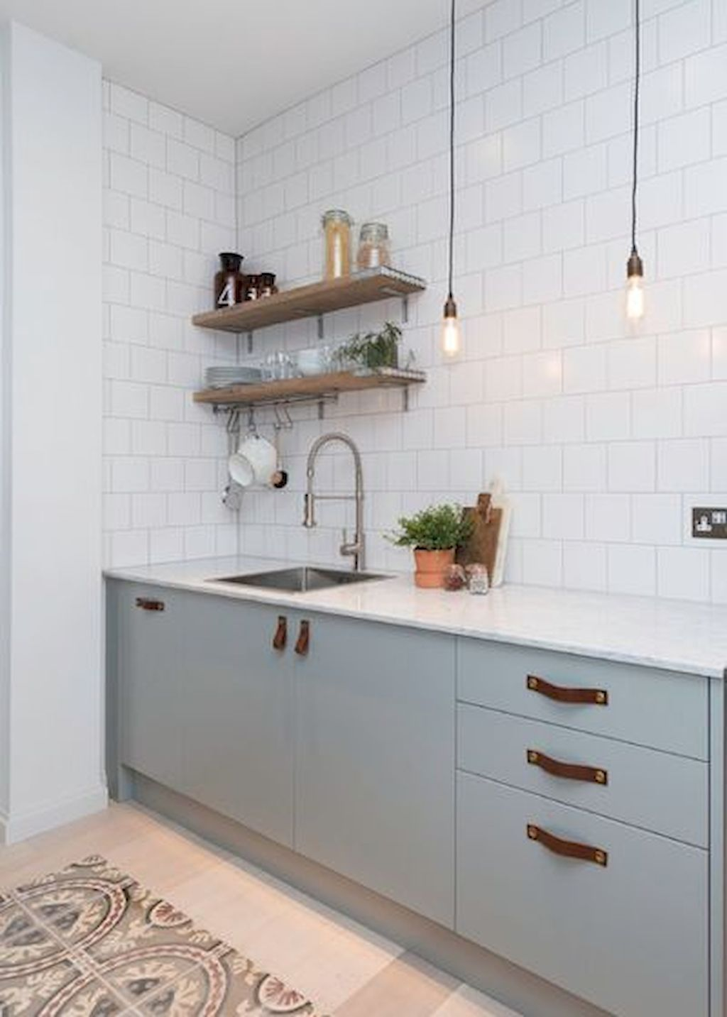 Marvelous Scandinavian Kitchen Design Interior Of The All White And Beautiful Tiny Kitch Scandinavian Kitchen Design Scandinavian Kitchen Modern Kitchen Design