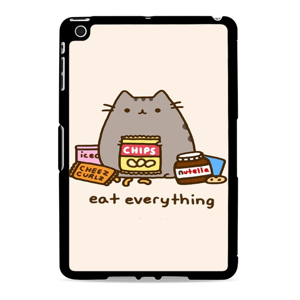 official photos 4feb3 93df7 Pusheen The Cat Eat Every Thing Ipad Mini 2 Case | Products | Ipad ...