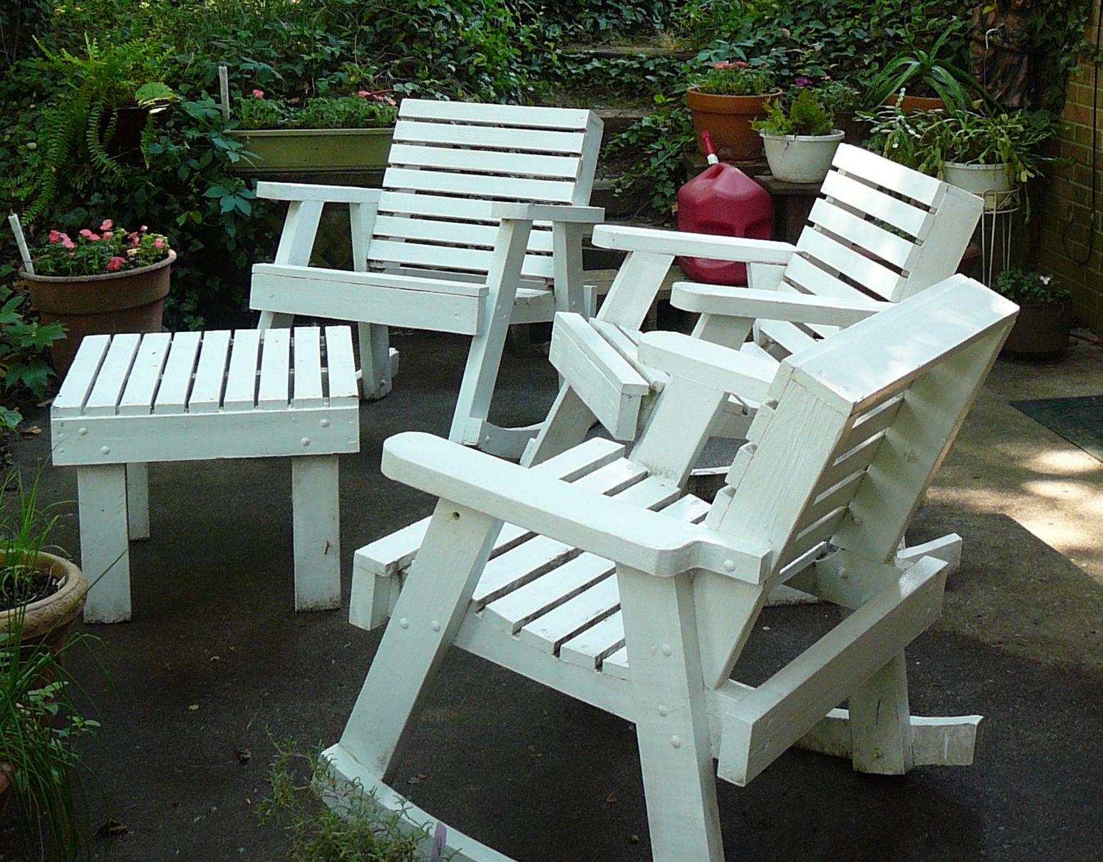 wooden outdoor chairs landscaping backyards ideas elegant regarding