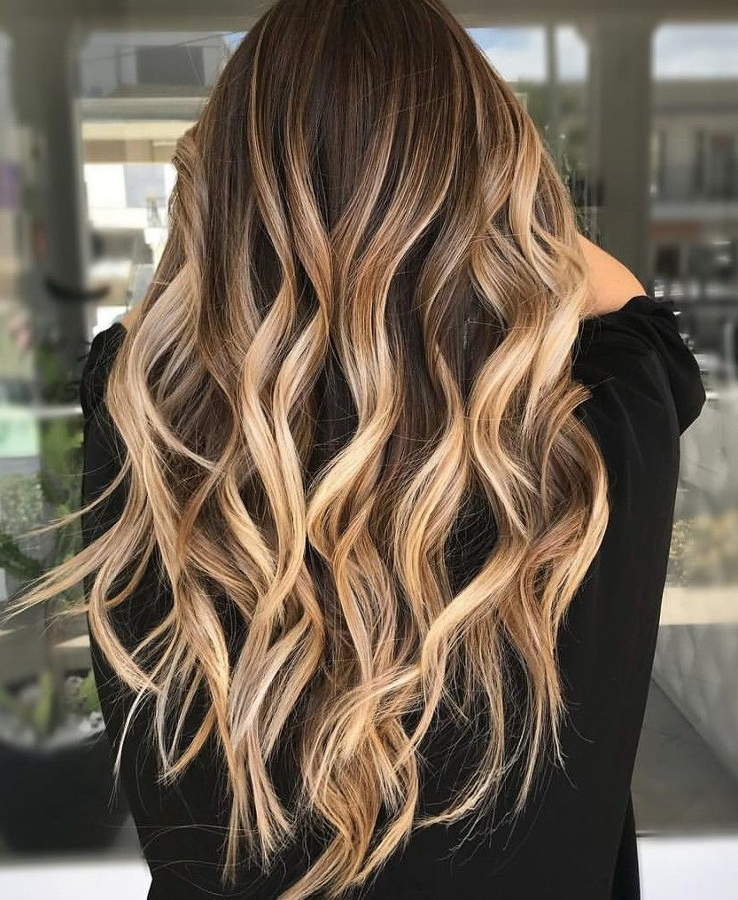 Haare blonde highlights braune Graue Haare