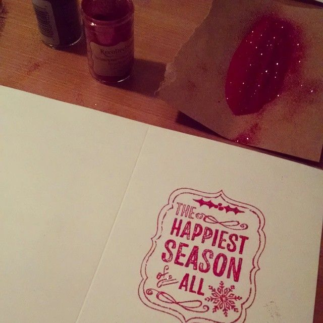 I actually sent out Christmas cards this year and decided to make my own. Here are some ideas for DIY Christmas Cards.