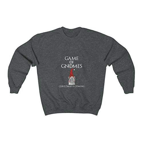 Gnome Crewneck Sweatshirt - Game of Gnomes Christmas Sweatshirt, Unisex Christmas Tee