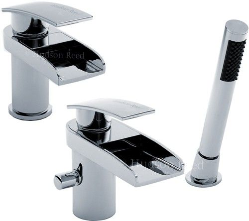 Additional Image For Waterfall Basin Bath Shower Mixer Tap Set