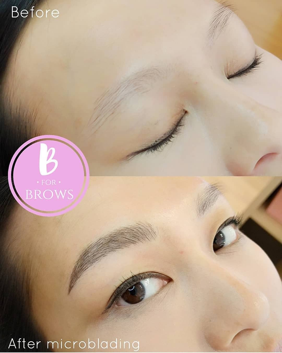 From Light And Sparse To Full And Fabulous Eyebrows Microblading