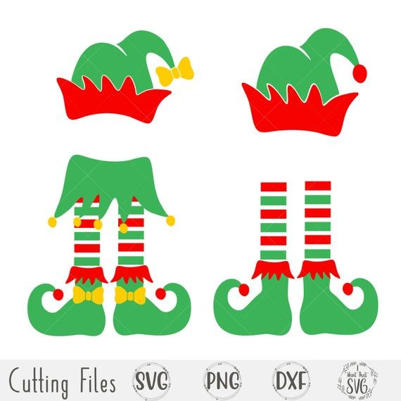 Elf Hat Silhouette Free Svg Elf Hat Elf Clothes Elf
