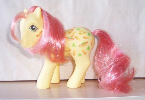 Vintage G1 My Little Pony Munchy Twice As Fancy Pony Ebay My Little Pony Pony Cute Toys