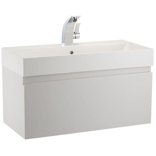 Mino 800 Drawer Unit And Basin   White Gloss   bathstore. Mino 800 Drawer Unit And Basin   White Gloss   bathstore   Vernon