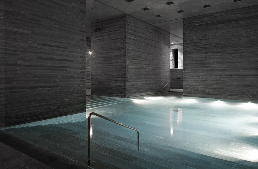 Architectural wonderland: Therme Vals, several kilometres ...