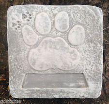Plastic Memorial mold garden ornament plaster concrete casting mould