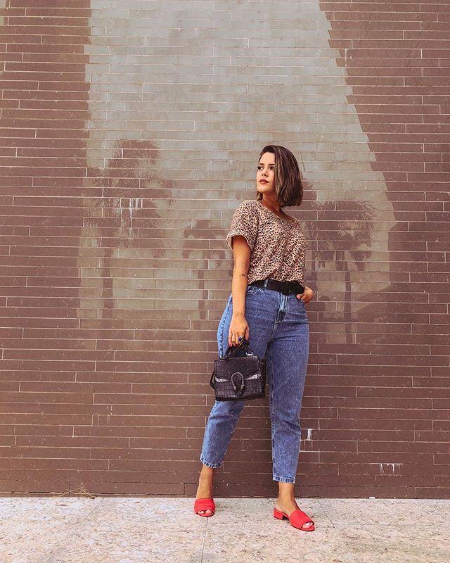 """Photo of Dyane Del Passo on Instagram: """"Alguém tem dúvidas de que vou usar muito essa mom jeans? Serviu como uma luva e só Deus sabe o tanto que estava procurando uma calça que…"""""""