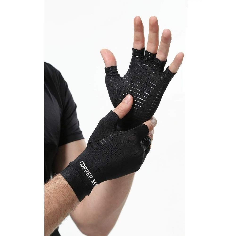 Highcamp Arthritis Gloves Women Copper Gloves Men Compression