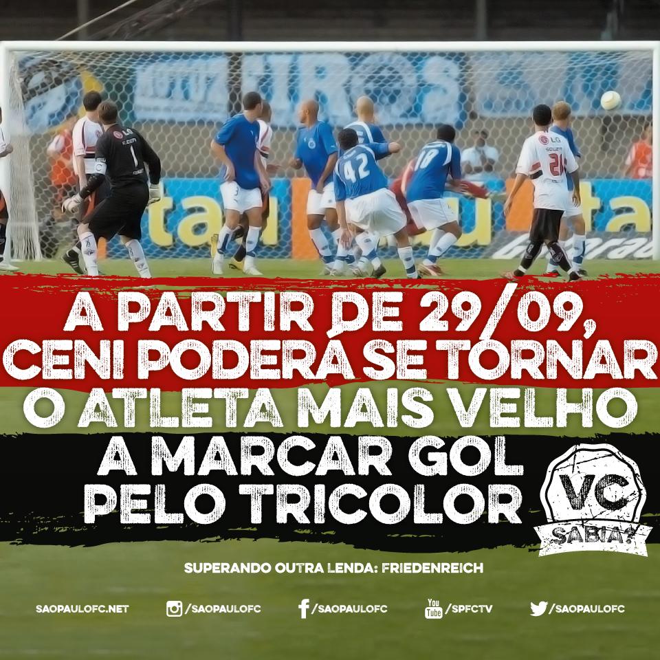 #21 - 06.06.2015. Rogério Ceni poderá se tornar o atleta mais velho a marcar gol pelo Tricolor!