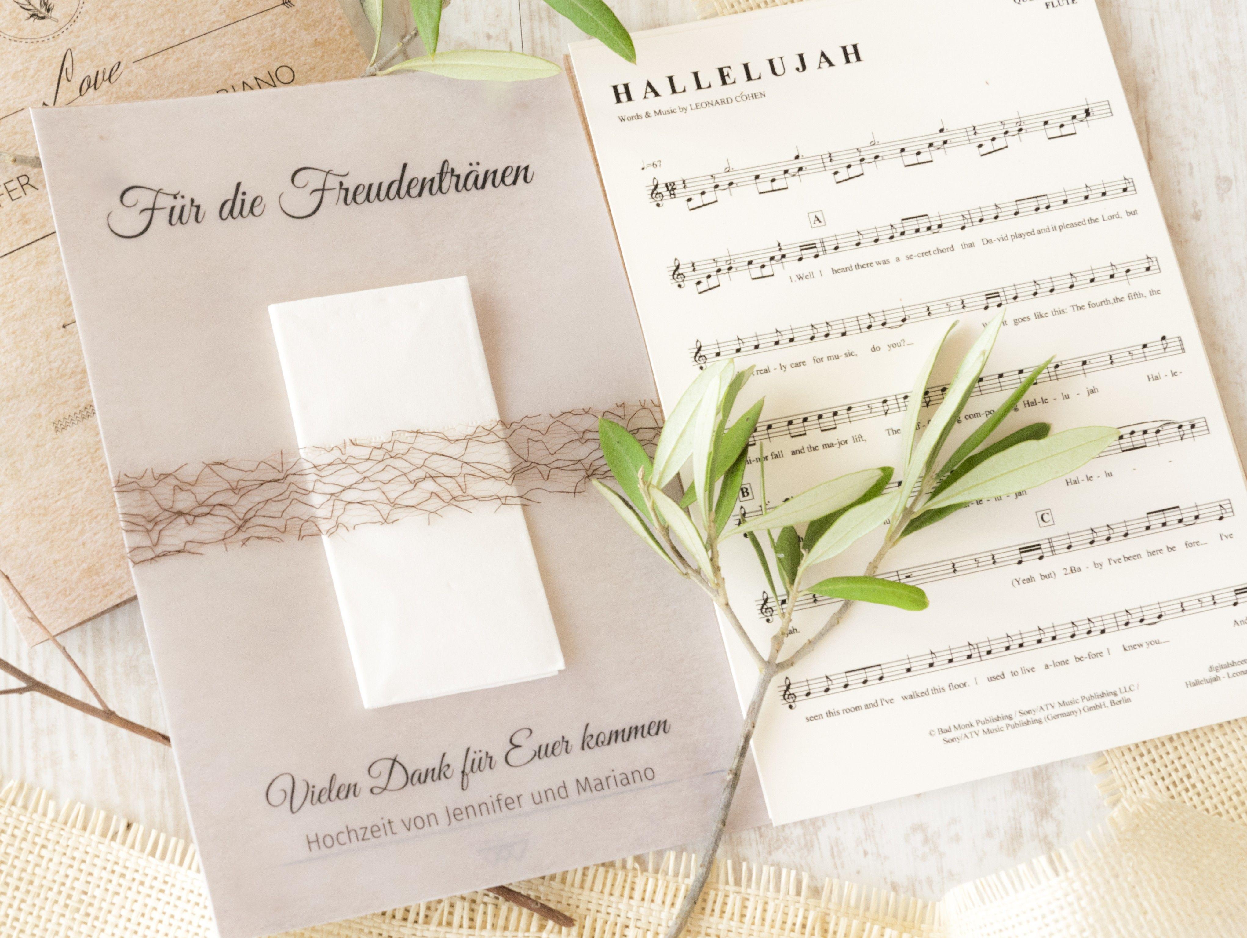 Freudentränen & Taschentücher - Drei Bastelideen #vintagesuitcasewedding