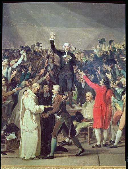 Tennis Court Oath A Pivotal Event In The 1st Days Of The French Rev The Oath Was Signed By 576 Of 577 Members French Revolution Historical Humor Tennis Court