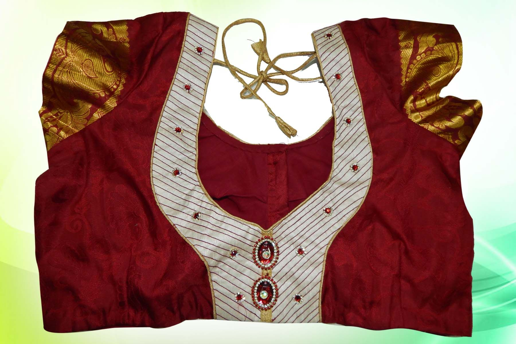 Executed # Online # Blouse # Stitching order from