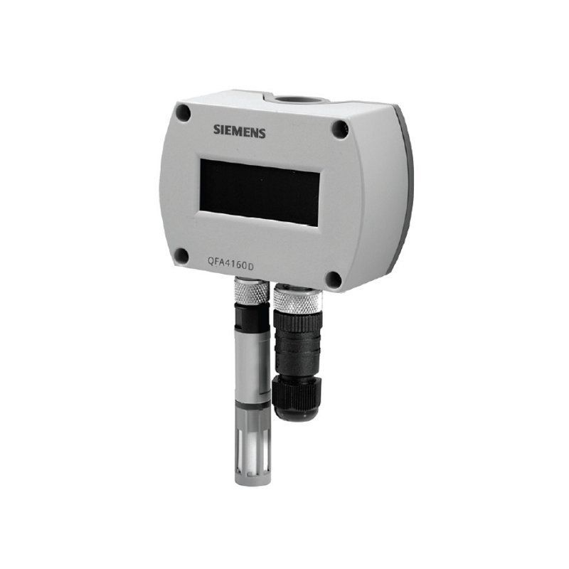 Siemens Qfa4160d Room Sensor For Humidity Room