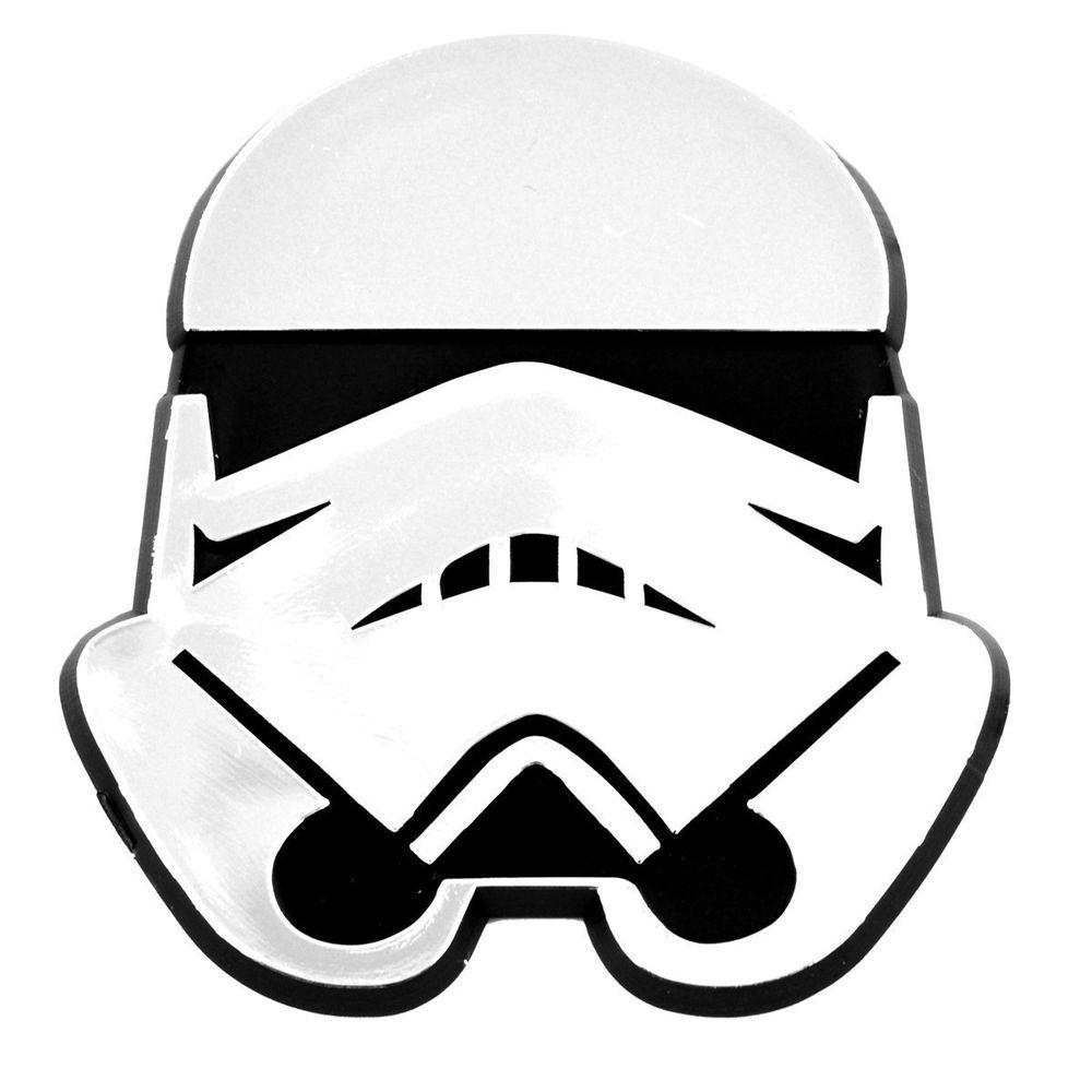 Stormtrooper Helmet Inspired Chrome Imperial Force Awakens
