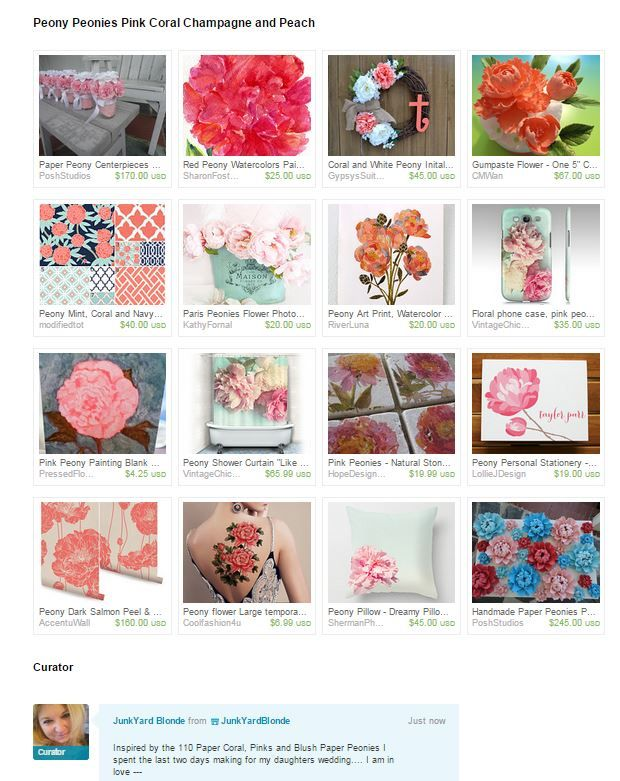 Peony Treasury Coral, Blush and Pink Peonies  https://www.etsy.com/treasury/NTc4Nzk3NDl8MjcyNzM4Mjk5OA/peony-peonies-pink-coral-champagne-and