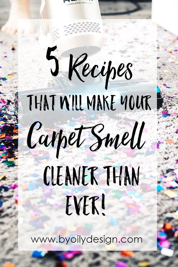 DIY carpet freshener that will make your home smell ...