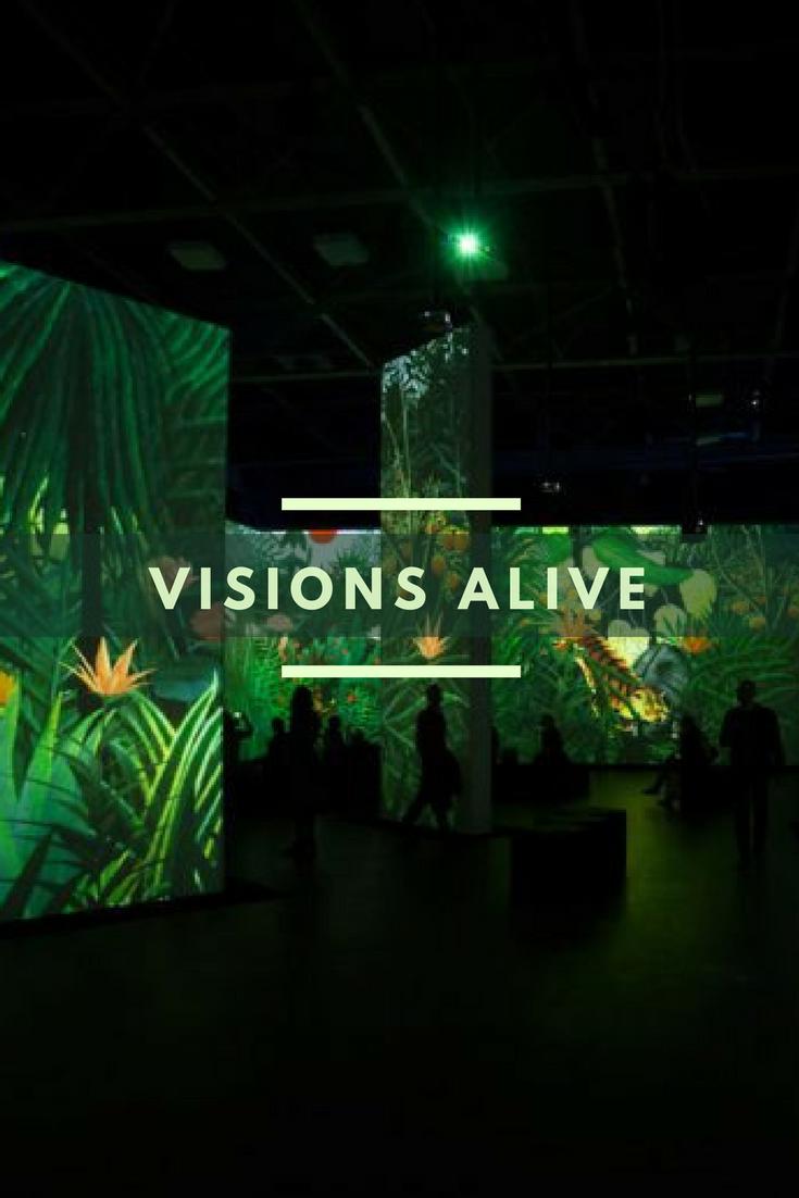 Ausstellungstipp: Von Monet bis Kandinsky - Visions Alive   Kandinsky, Monet, Animation