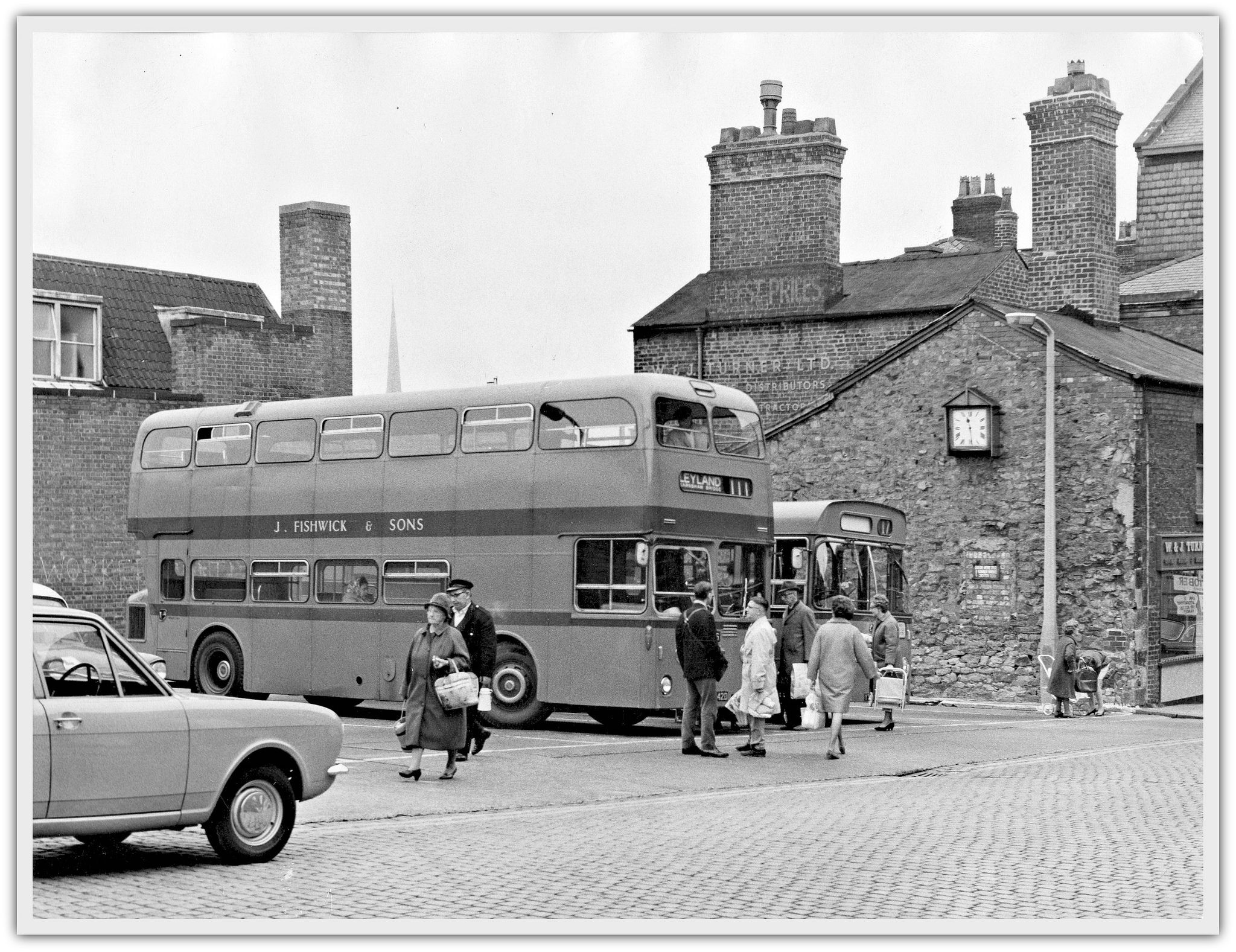 Fishwick Bus Station, Fox Street, Preston c.1968 Preston