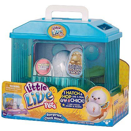 Little Live Pets Surprise Chick House Toy Toy toy - asda halloween decorations