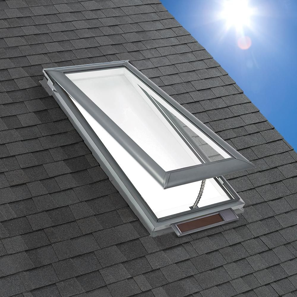 VELUX 21 in. x 453/4 in. Solar Powered Fresh Air Venting