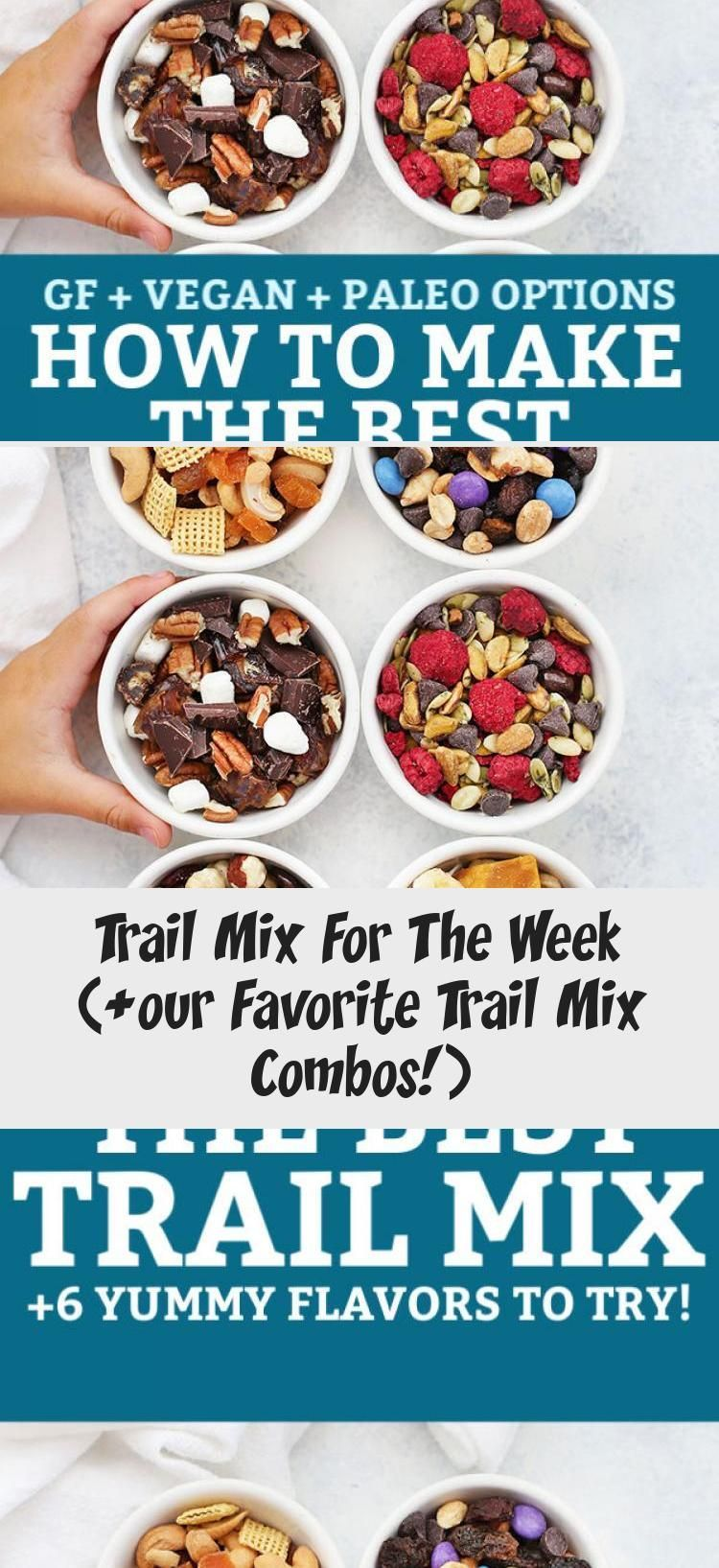 How to Make the BEST Trail Mix - Try this DIY  Trail Mix Bar to make a week of healthy snacks in no time with these yummy trail mix ideas! Try our favorite flavor combinations or create your own. Gluten free, vegan, paleo, and Whole30 options! // Paleo snack // Trail Mix // Gluten free snack //... #bar #diy #mix #studentenfutter #studentenfutter rezepte #studentenfutter selber machen #trail #trail mix #trail mix bar #trail mix bar wedding #trail mix recipes #trail mix recipes for kids #Week