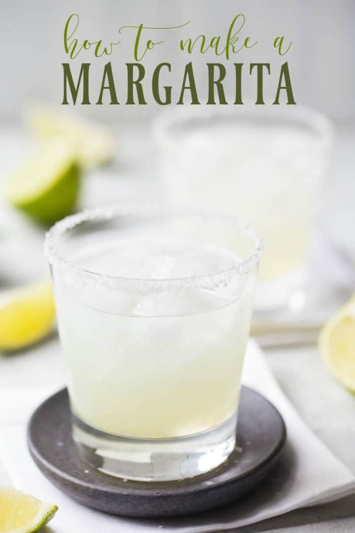 How to make a margarita this recipe is perfectly balanced