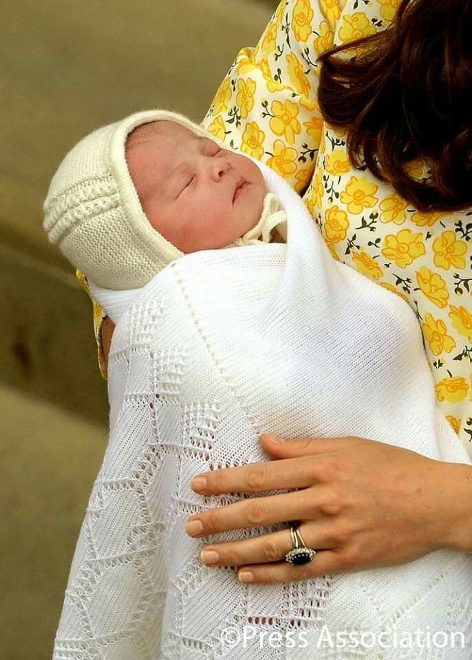 Royal baby girl...Princess Charlotte Elisabeth Diana of Cambridge