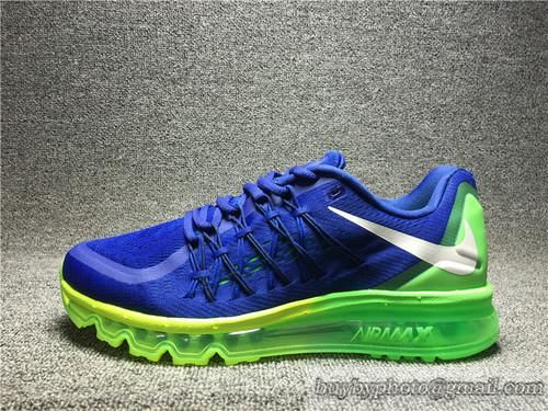 Men's Nike 2015 Air Max Authentic Running Shoes Air Max 2015