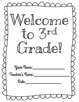 Ease your students into 3rd grade with this easy to use