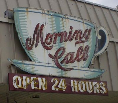 Morning Call Metairie And New Orleans Louisiana Serving Excellent Beignets Vintage Neon Signs Retro Sign I Love Coffee