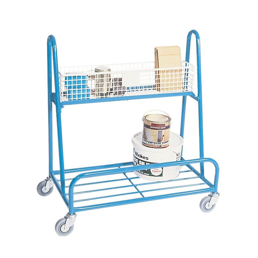 A Frame Trolley Diy Trolleys Trolley Storage Design Diy Shelving Systems